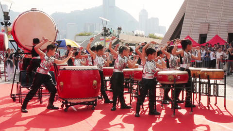 Hong Kong Synergy 24 drum competition 27102018 ビデオ