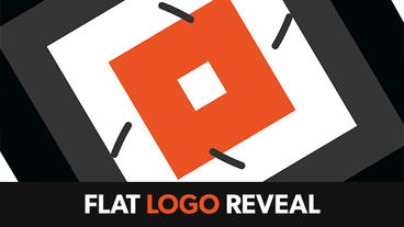 Flat Animation Logo Reveal After Effects Template