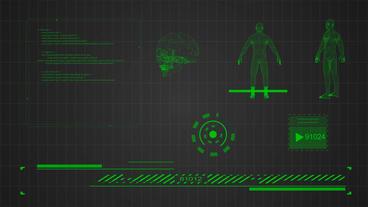 Hud Infrographic Big Pack モーショングラフィックステンプレート