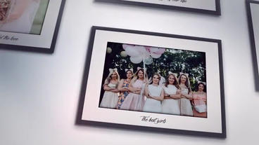 Photos On The Wall - Our Wedding Day After Effects Template