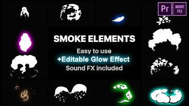 2DFX Smoke Elements Motion Graphics Template