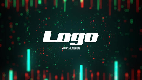 Futuristic Digital Logo After Effects Template