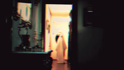 Ghost in the corridor Footage