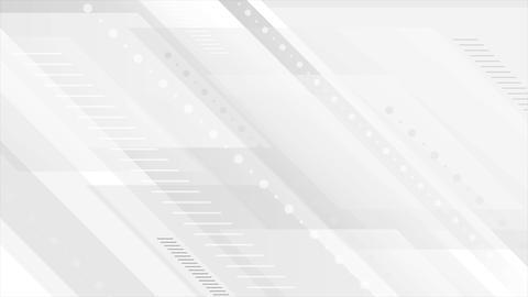 Grey tech geometric minimal motion background Animation