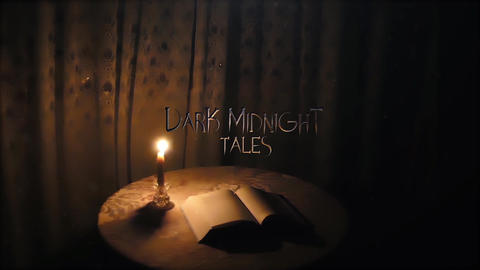 MIDNIGHT TALES After Effects Template
