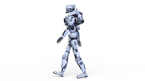 Robot Walk Animation