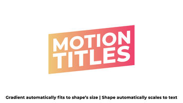 Self Resizing Titles After Effects Template