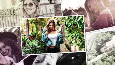 Photo Collection Slideshow After Effects Template