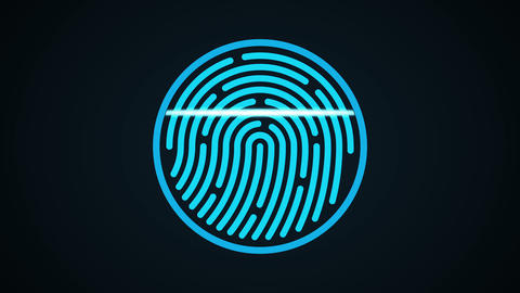 Fingerprint scan3 Animation