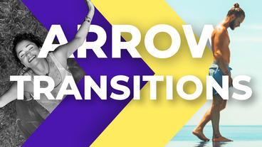Arrow Transitions After Effects Template