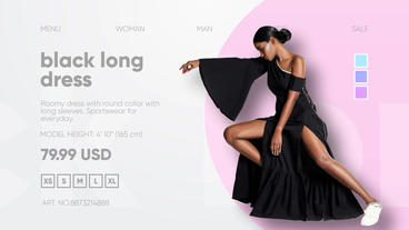 Fashion Clothes Shop After Effects Template