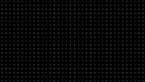 Dynamic Black And White Composition With Dots Scaling Animation
