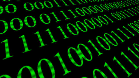 Binary code screen data code.Binary code screen data code.Web network Animation 4k Animation