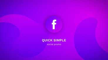 Quick Simple Social Promo Motion Graphics Template
