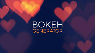 Bokeh Light Generator V 2 Premiere Pro Template