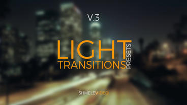 Light Transitions Presets V 3 Premiere Proテンプレート