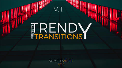 Trendy Transitions Presets V 1 Premiere Pro Template