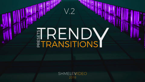 Trendy Transitions Presets V 2 Premiere Pro Template