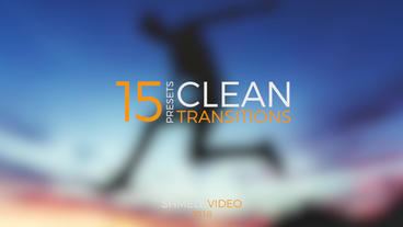 Clean Transitions Presets Premiere Proテンプレート