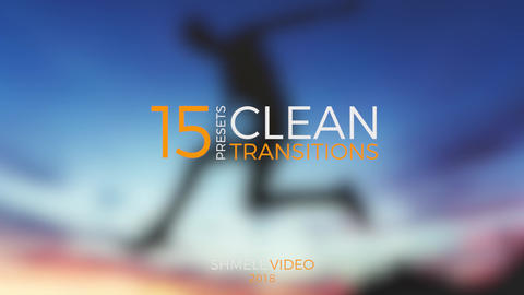 Clean Transitions Presets Premiere Pro Template