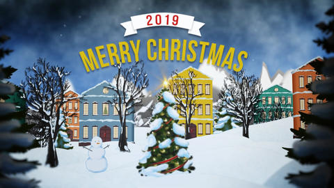 Christmas Joy After Effects Template