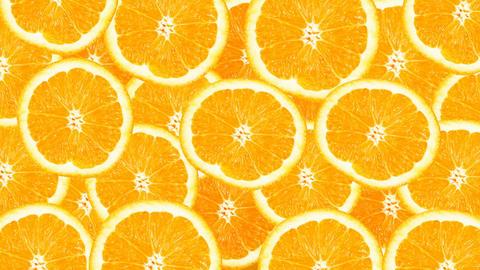 Sunny citrus background. 4k ビデオ