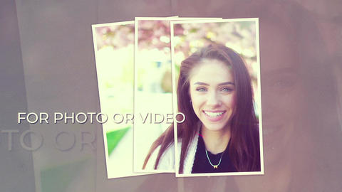 Triple Photos Opener After Effects Template