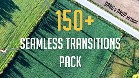 150+ Seamless Transitions Pack Premiere Pro Template