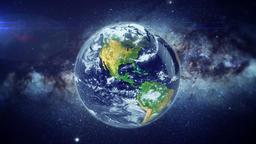 Earth Zoom AFRICA CG動画素材