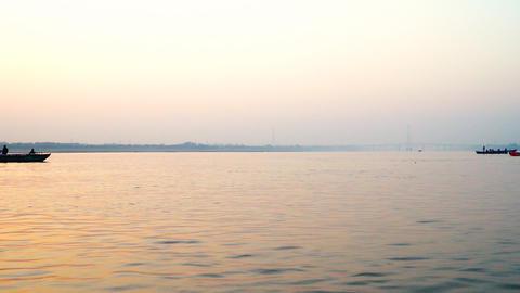 India Ganges River 001 영상물
