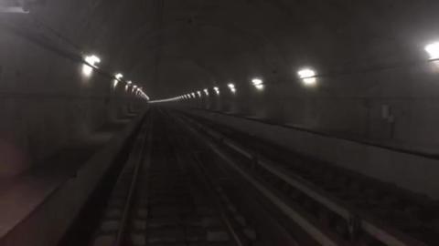 Subway tunnel Footage