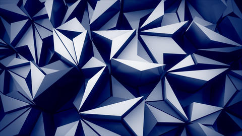 4K Abstract Geometry Footage