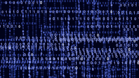 internet binary data highway blue 10839 Stock Video Footage