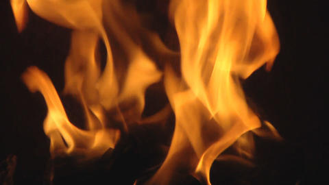 fireplace Stock Video Footage