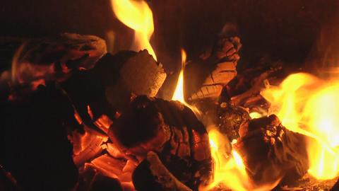 live coals Footage