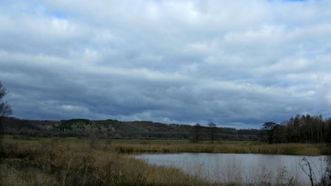 time lapse landscape. no birds and free of defects Stock Video Footage