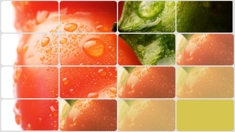Food background Stock Video Footage