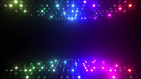 Led wall 2f Db 2 R 1s HD Stock Video Footage