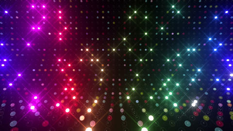 Led wall 2f Eb 1 R 1s HD Stock Video Footage