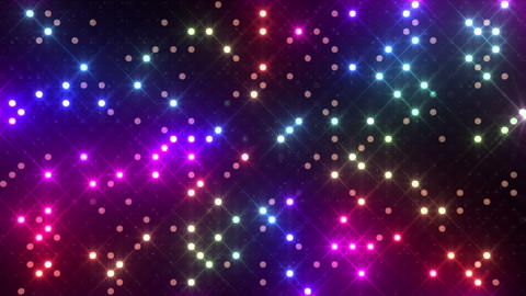 LED Wall 2f Hb 1 R 2 HD Stock Video Footage