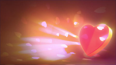 Valentine's day background Animation
