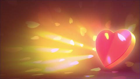 Valentine's day background Stock Video Footage