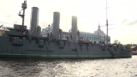 Cruiser Aurora Stock Video Footage