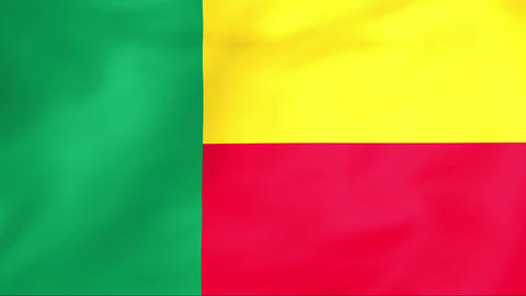 Flag Of Benin Animation