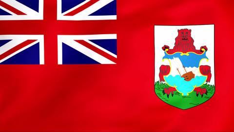 Flag Of Bermuda Animation