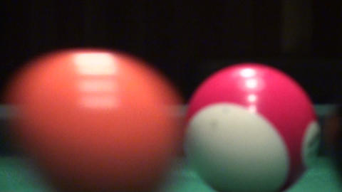 American Billiards Stock Video Footage