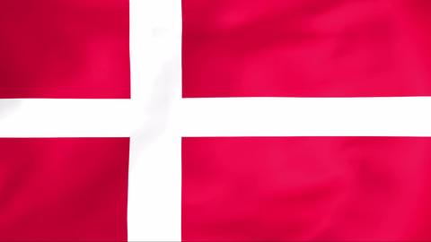 Flag Of Danmark Animation