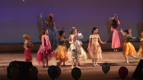 Children's ball Stock Video Footage