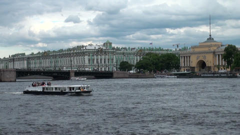 The Hermitage in St. Petersburg Animation