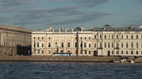 Mansion Gagarina in St. Petersburg Stock Video Footage